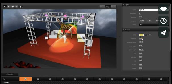 Figure 22: Extrait de l'interface de vidéomapping de Millumin [Mil2015]
